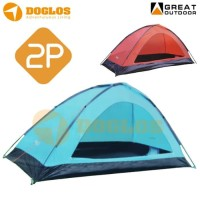 Tenda GREAT OUTDOOR GT8187 MONODOME 2 not lafuma,eiger,consina,rei