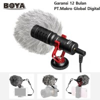 Microphone BOYA BY-MM1 MM1 Shotgun Mic Kamera Dslr Hp Mirrorless Slr