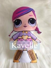 Mainan Boneka plushie doll toy karakter LOL surprise gede