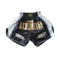 Celana Muay Thai SIL Thunder BLACK
