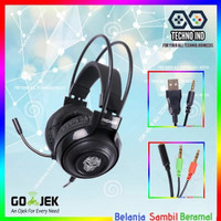 Rexus Gaming Headset Vonix F-75 For Android PC Free jack Splitter