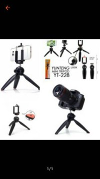 BEST SELLER MINI TRIPOD YUNTENG   HOLDER U EMDD