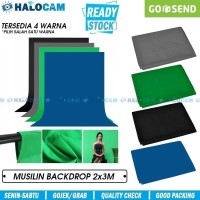 Backdrop/Background Foto Studio Screen 2x3m (Blue,Black,Green,Grey)