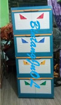 Paling Laris Lemari Plastik Club 4 Susun Besar Polos Cmmy 4