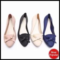 Flat Jelly Shoes | Sepatu Sendal Pita Wanita - Santai | Woman Shoes