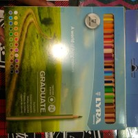 Lyra Graduate Pencil warna 24 Thick lead 3.8 mm