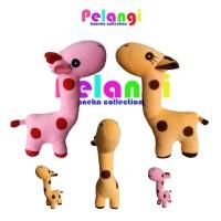 Boneka anak Jerapah lucu 4 warna cantik