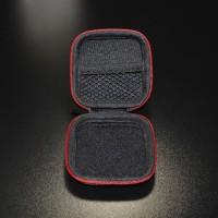 PROMO Knowledge Zenith Case Earphone EVA - B001 - Black/Red