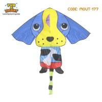 Layang Layang Layangan Anjing Kite Mainan Anak Toy
