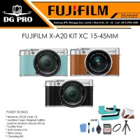 FUJIFILM X-A20 KIT XC 15-45MM PAKET LEATHER CASE 32GB - FUJI XA20