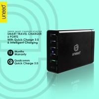 UNEED Smart Travel Charger 6 Port Qualcomm Quick Charge 3.0 - UCH07Q3