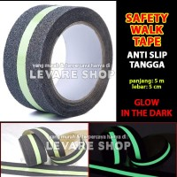 Safety Walk Luminous Tape Anti Slip Tangga - Fosfor Glow in the Dark