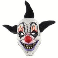 New Topeng badut punk seram clown mask party Halloween payday latex