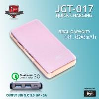 JGT Power Bank Fast Charging 10000 mAh - JGT 017