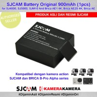SJCAM Battery Original for SJCam Brica BPRO AE (Baterai Cadangan)