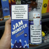 Jam Monster Blueberry Butter Toast 100% Authentic