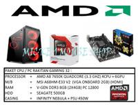 PAKET CPU RAKITAN GAMING 32 /AMD A8-7650K (3.3 GHZ)/RAM 8GB /HDD 500GB