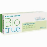 Bio True Softlens Bening 1 Day harian Bausch and Lomb kadar air tinggi