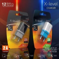 Travel Charger Batok Fast Charging 2A Original X Level Vizz Real
