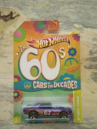 Hot Wheels 67 Camaro Car Of The Decades Card not Mint