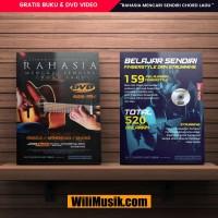 Gratis Buku Gitar Dan DVD Rahasia Mencari Chord Lagu