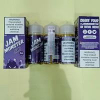 JAM MONSTER GRAPE USA PREMIUM LIQUID 100ML NIC 3MG MURAH LIQUID