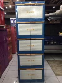 CUCI GUDANG Lemari Plastik Club Susun 5 Besar CMMY home tools