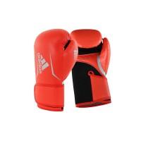 Adidas Speed 100 Boxing Glove NEW - Solar Red Black - ADISBG100