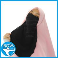 Cadar Tali Niqab Niqob Wolfis Wolpeach Kualitas Premium