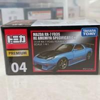 Tomica Premium 04 Mazda RX7 FD3S RE Amemiya Specification