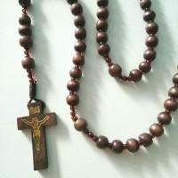 rosario kayu kopi harga grosir