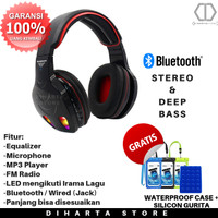 Gaming Headset / Headphone Wireless Bluetooth With Equalizer