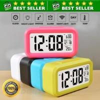 Jam Meja Pintar / Digital Desktop Smart Clock - JP9901 - Putih