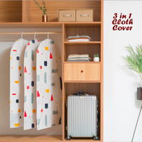 New 3 in 1 Cloth Organizer GEOMETRY (1 set isi 3 cover ukuran