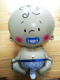 Balon Baby Bayi Jumbo Baby Born Balon Pesta Baby Shower - AHM139