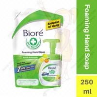 Sabun Cuci Tangan Biore Foaming Hand Soap 250ml Antibacterial (Hijau)