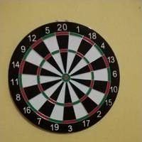 Dartboard besar 17 in , DART GAME, PAPAN DART, UKURAN 17in/43cm