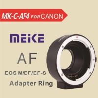 converter adapter auto fokus meike for canon eos M to canon DSLR lens