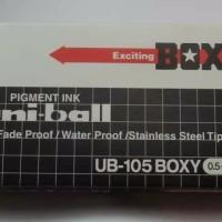 Ballpoint Boxy Uniball 105