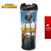 Tumbler stainless botol mug minum custom / PUBG / souvenir / promosi