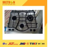 ARISTON PH 640 MST kompor tanam buildin hob gas 4 tungku / PH640MST