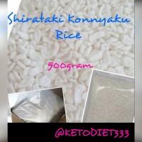 Low Carbs Konnyaku Rice 500gr / Beras Shirataki 500gr Rendah Kalori