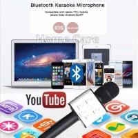 Grosir Mic Q9 Microphone Wireless Speaker Karaoke Bluetooth Q9