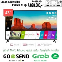 LG LED TV 43UK6300 - SMART TV LED 43 INCH UHD 4K HDR LG 43UK6300PTE