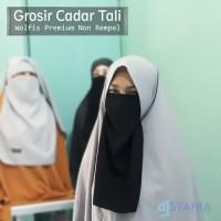 Grosir Niqab Cadar Tali Premium