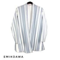 Outer GreySalur - Emikoawa / Cardigan / Souvenir / Berkualitas