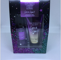 Victoria Secret Fragrance Lotion and Mist Set Love Spell