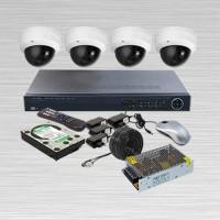 Paket CCTV INFINITY, IP CAM 3 MP, 4 Kamera + PASANG JKT & TERIMA BERES