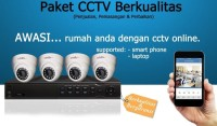 PAKET CCTV 8 KAMERA INFINITY 2MP ( INCLUDE BIAYA PASANG JAKARTA )