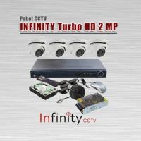 Paket CCTV INFINITY, 4 Kamera HD 2 MP + PASANG JKT & TERIMA BERES